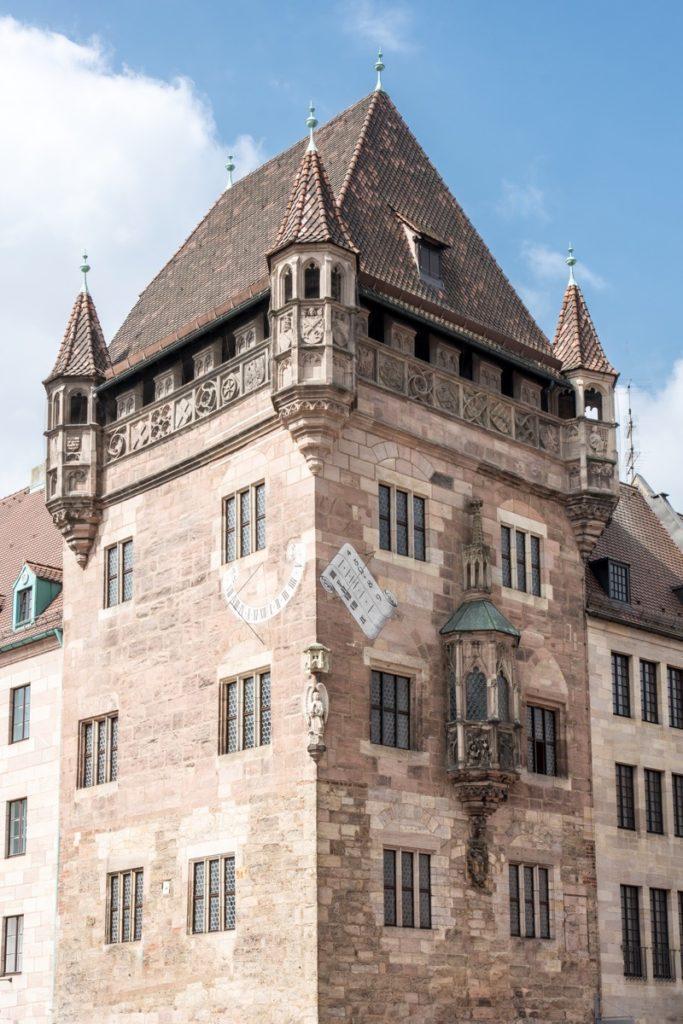 Das Nassauer Haus in der Altstadt von Nürnberg