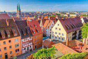 Nürnberg Skyline