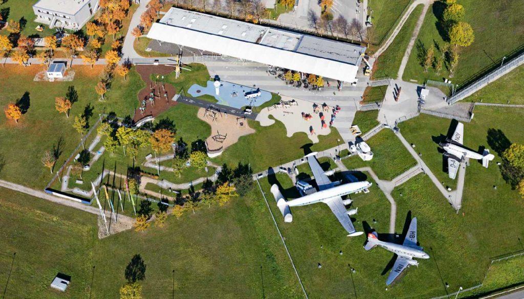 Der Besucherpark Foto Copyright: Flughafen München GmbH